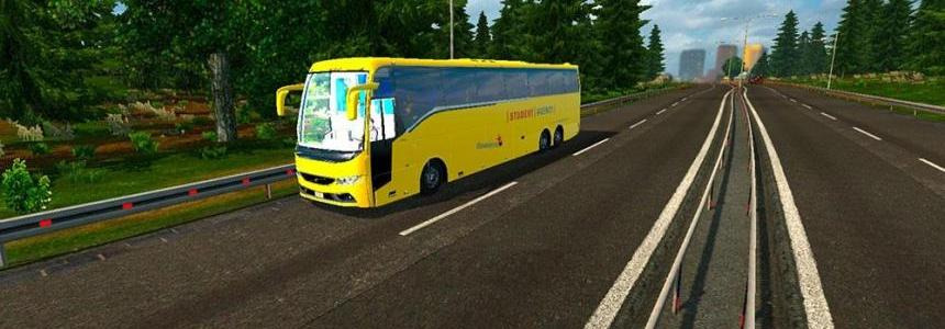 Czech Student Agency Bus mod + Passengers FINAL