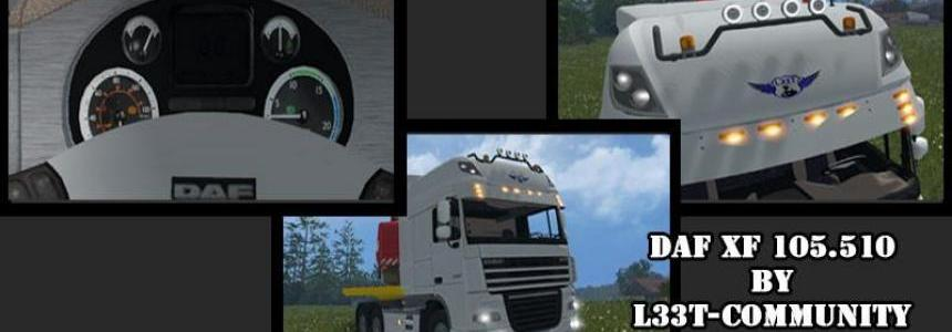 DAF XF 105.510 v0.8 BETA