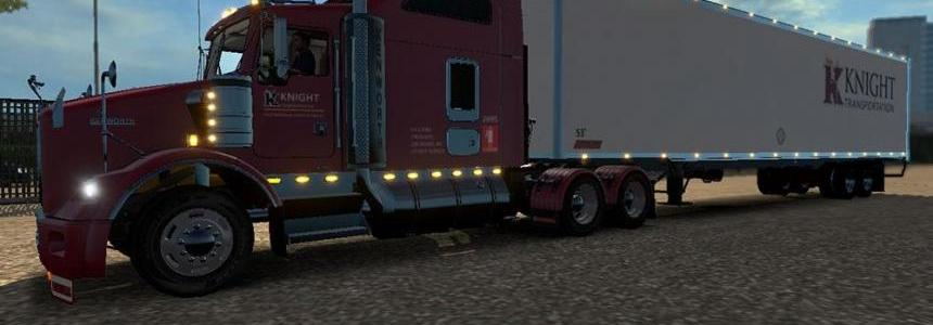 DC Knight T800 + American Trailer Combo Skin Pack 02