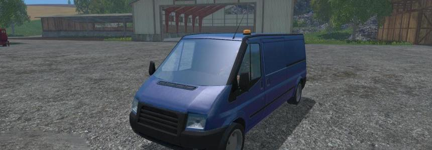 Driveable traffic van v1.1