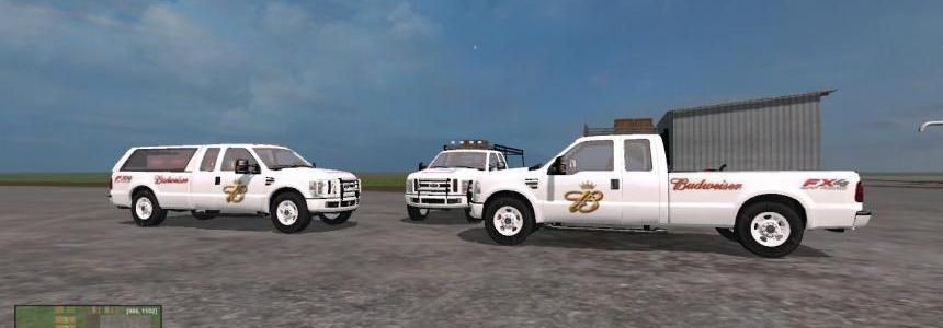 F350 Work Truck Pack Budweiser v1.0