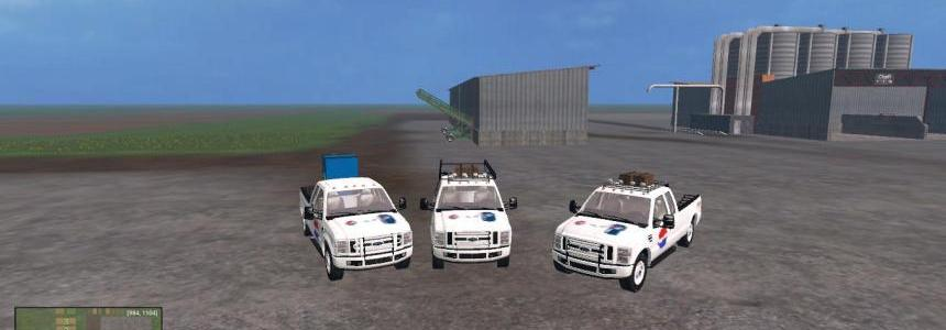 F350 Work Truck Pack Pepsi Version v1.0