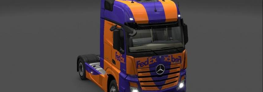 Fedex Mercedes New Actros 1.18