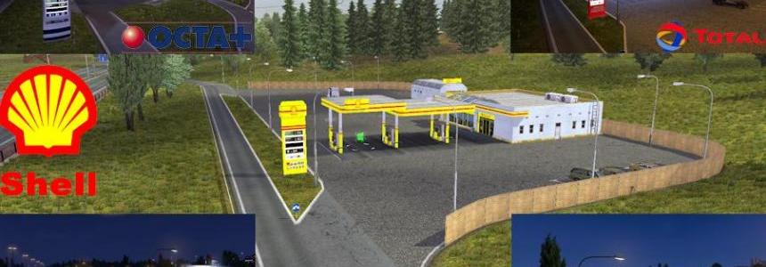 Fixed Real Gas Station 1.17.x and DLC