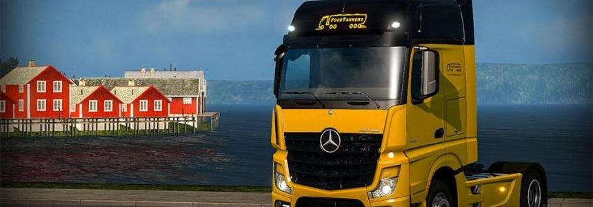 Food Tankers – Mercedes Benz Mp4