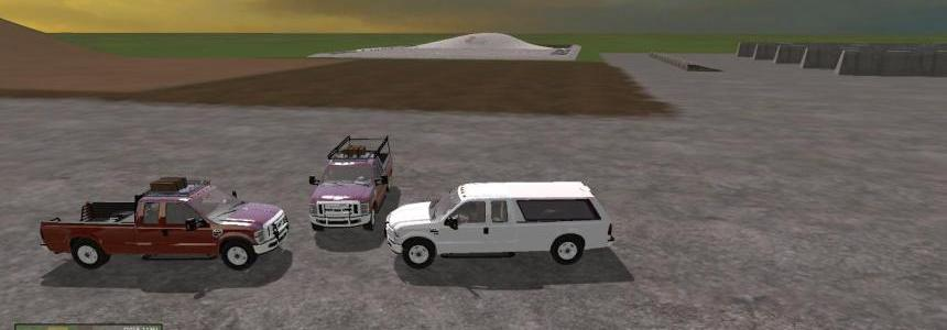 Ford F350 WorkTruck Pack