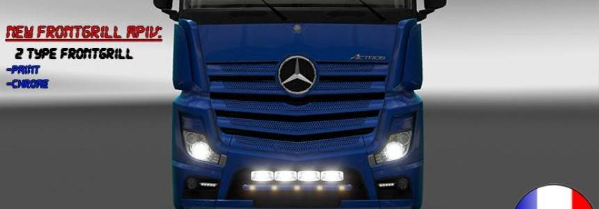 Frontgrill Mercedes Actros MPIV 1.18