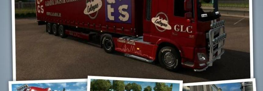 Gadarol Logistic Trailer Skin Pack v1.17.1s