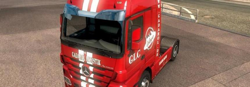 GLC Skin Package Mercedes Actros 2009 v1.0