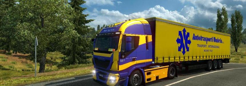 Hi way skin + trailer autotrasporti Umbria