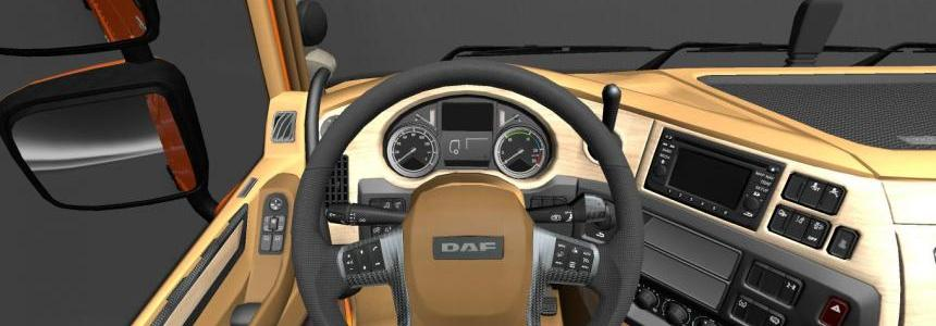 Interior DAF Xf 6 by deathorange 1.17