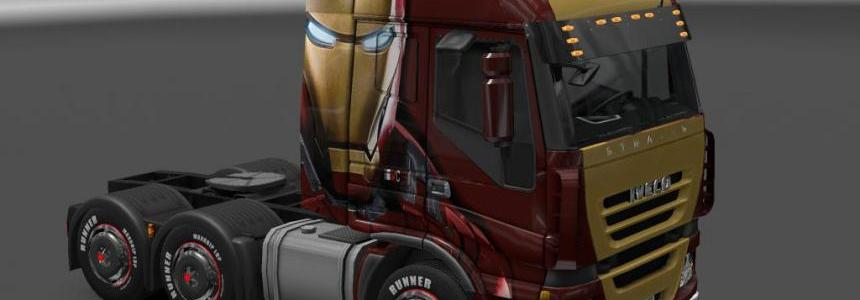 Iveco Stralis Iron Man Skin