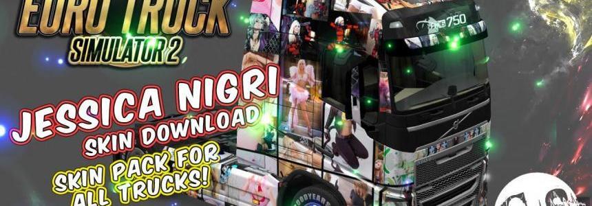 Jessica Nigri Skin Pack for All Trucks + 3 Custom Trucks