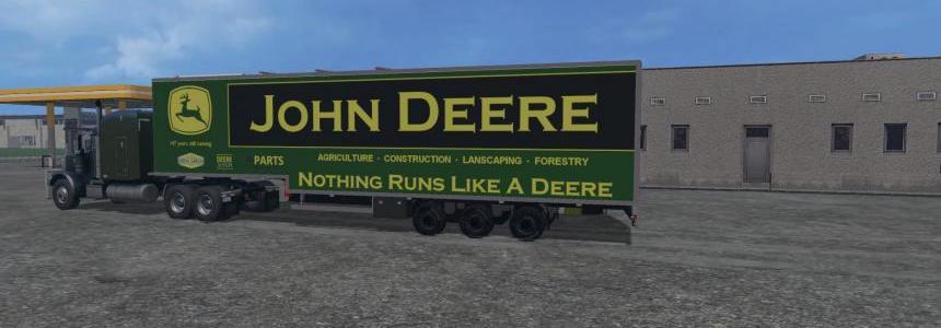 John Deere Event Trailer Skin v1