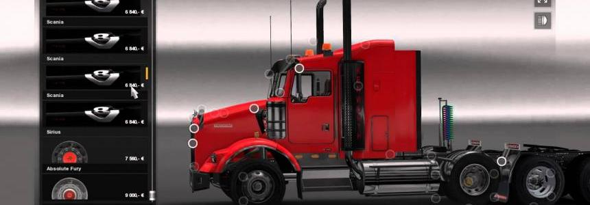 Kenworth t800 + enhanced sound