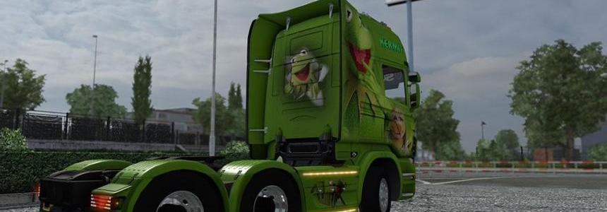 Kermit the Frog Scania R Skin