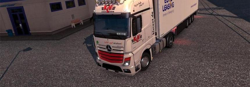 KLV Rent Skin for Actros MP4