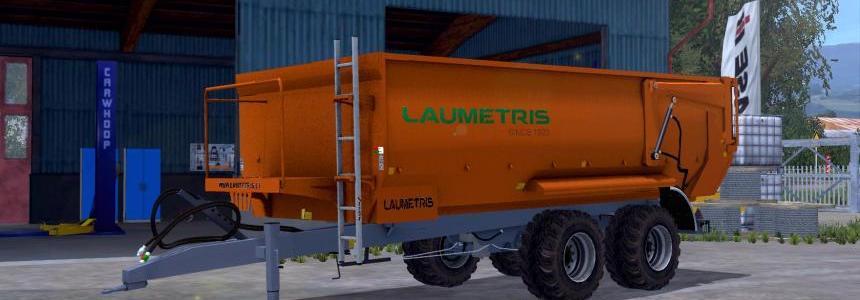 Laumetris Tractor drawn semitrailers PTL 10 v1