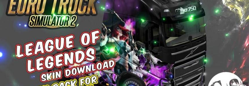 League Of Legends Skin Pack for All Trucks + Volvo Ohaha