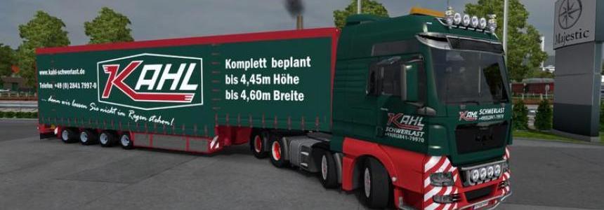 MAN TGX Kahl Heavy Combo v2.0 Scandinavia