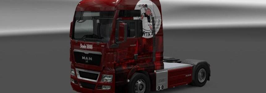 MAN TGX XXL Sparta Rotterdam Skin