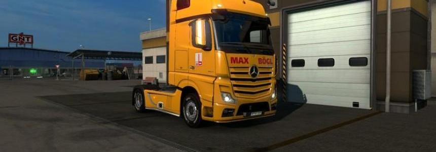Max Bogl Actros MP4 v1.18 Beta