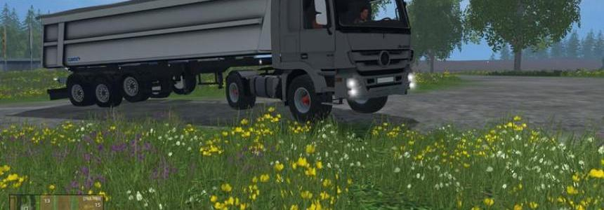 MB Actros MP3 1848 v0.8 BETA