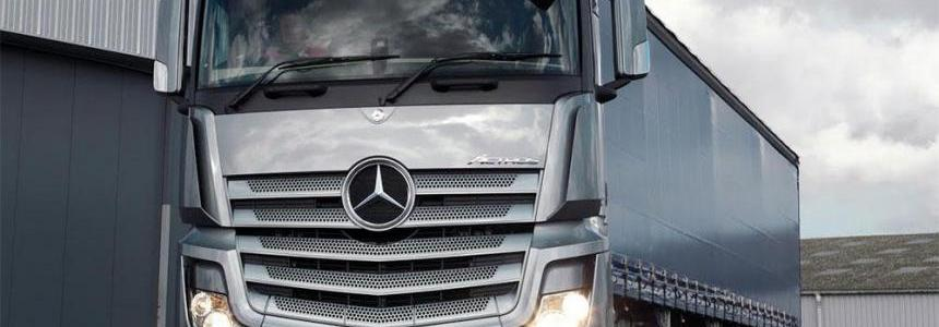MB Actros MP4 sound
