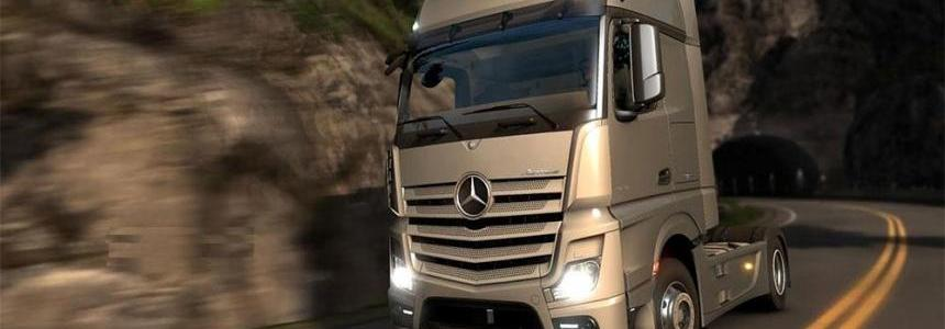 Mercedes Actros 2014 1000HP Engine