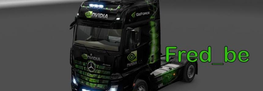 Mercedes Actros 2014 Nvidia 1.18.x