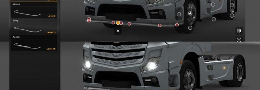 Mercedes Actros MP4 2014 Samurai Bottom Bar