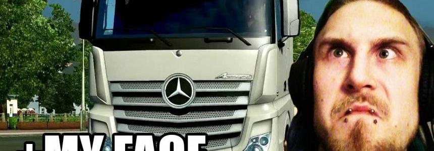Mercedes Actros MP4 sound REWORKED
