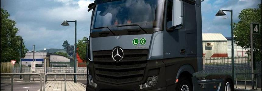 Mercedes Actros MP4 V2.5