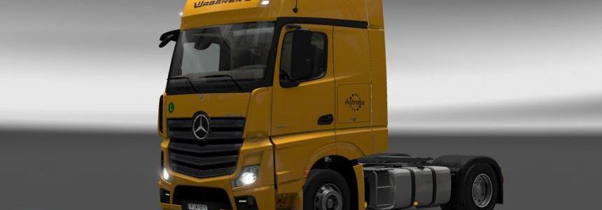 Mercedes Actros MPIV Waberer's Skin Pack v1.0