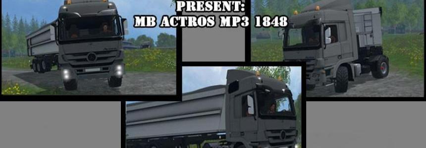 Mercedes Benz Actros MP3 1848 v0.8b BETA