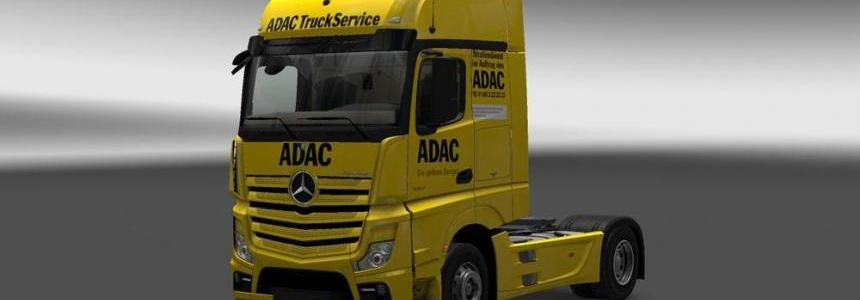 Mercedes MP4 2014 ADAC Skin