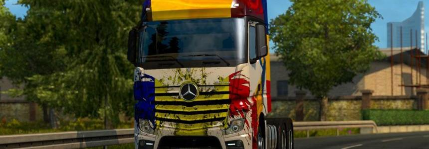 Mercedes MP4 2014 Romania Skin