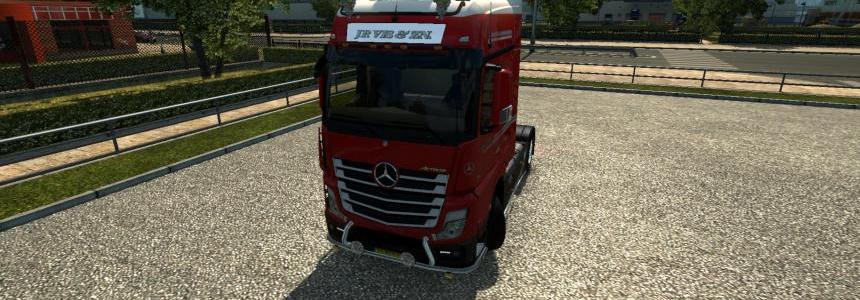 Mercedes MP4 - Skin JP.VIS 1.18.5s