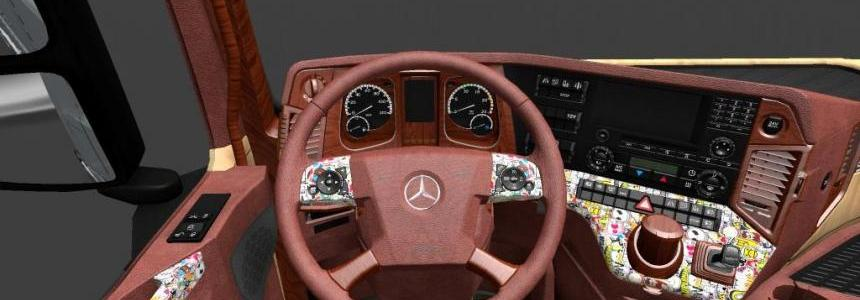 Mercedes New Actros Interior 1.18