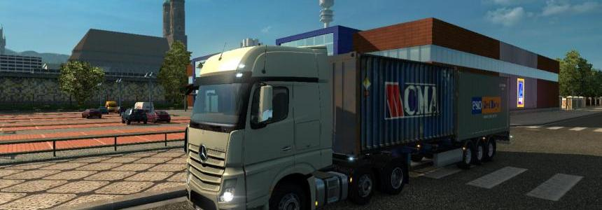 Mod MB Actros 2014 traffic