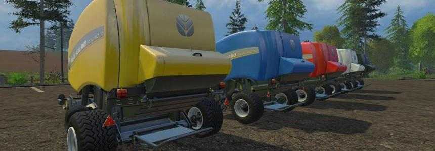 New Holland Baler Pack HDR Dyeable v1.2