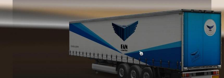 New Mercedes Skin Pack with trailer 1.18