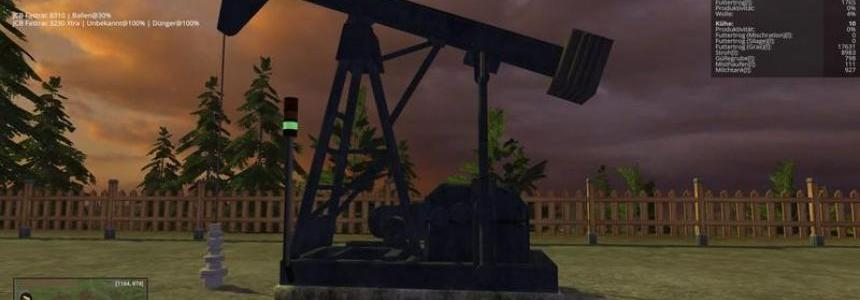 Oil pump for crude oil Produkton v1.1