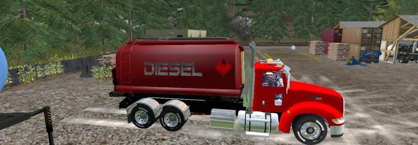Peterbilt 384 AR Tanks V1