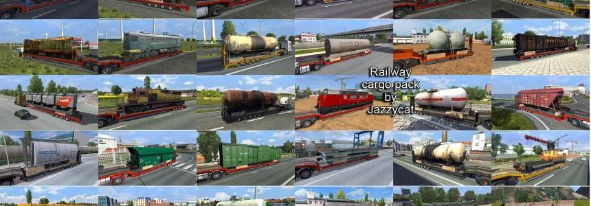 Railway cargo pack by Jazzycat  v1.6