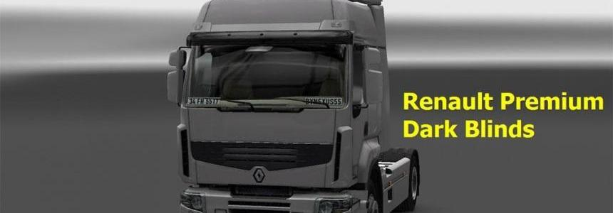 Renault Premium Dark Blinds