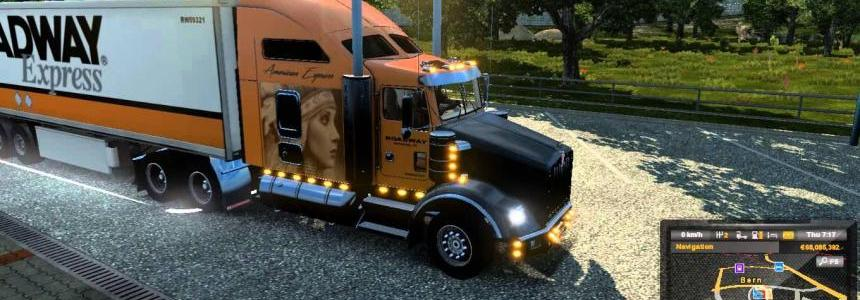 Roadway Express combo skins