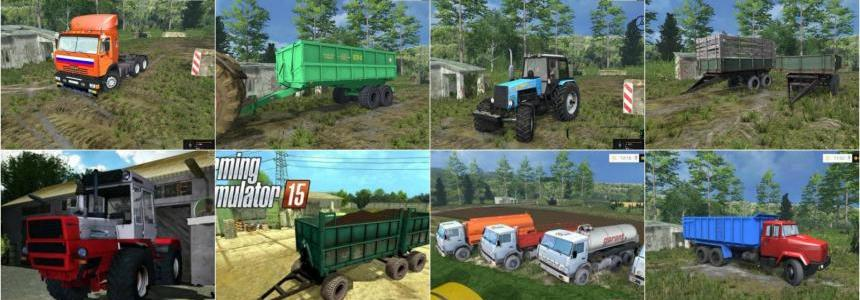 Russian Transport Pack v1.0