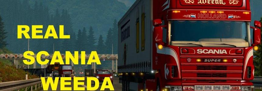 Scania 124L Weeda Holland