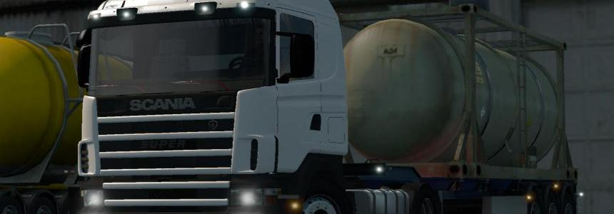 Scania 4 Series By Jordan tested on 1.17